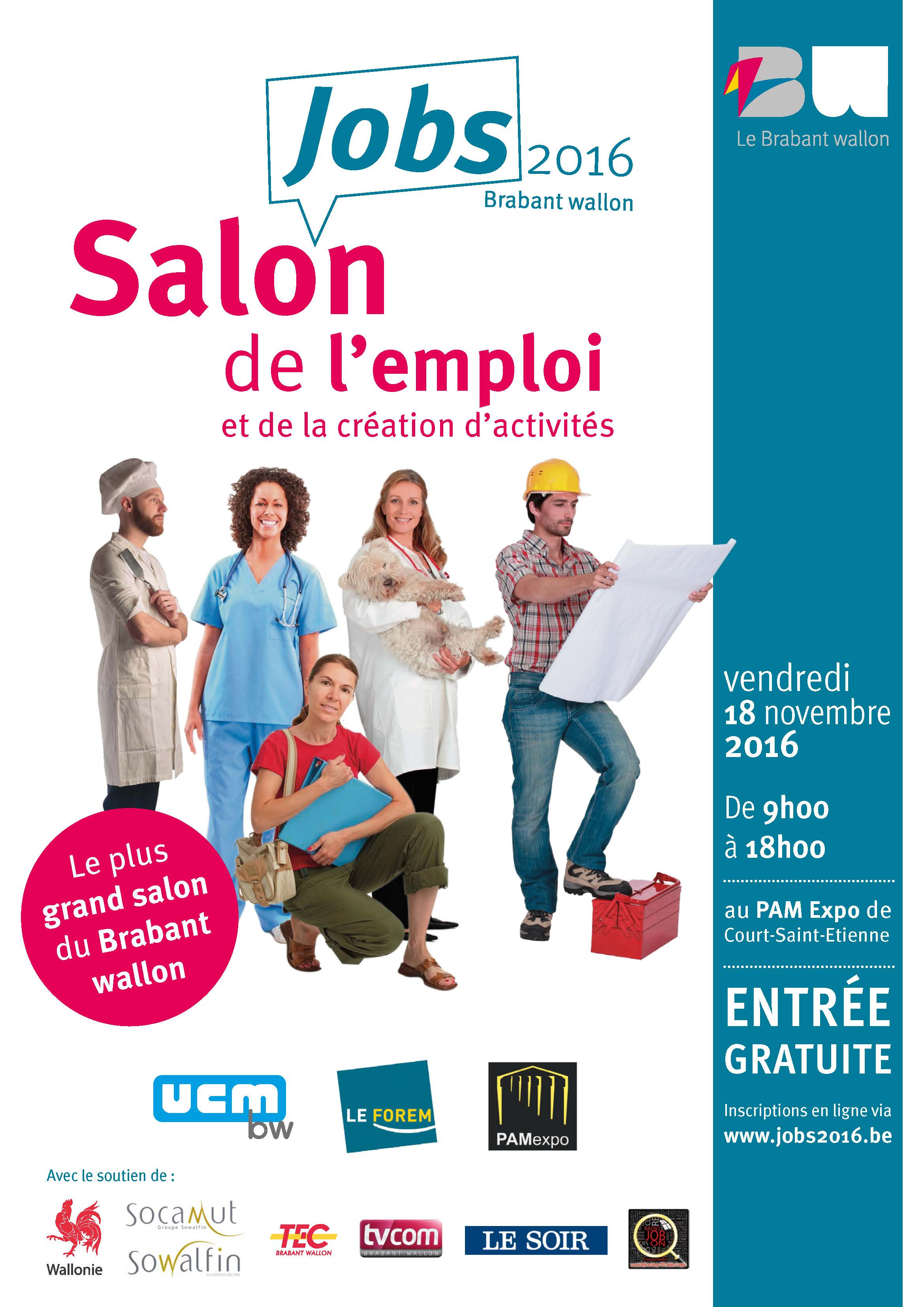 Affiche Salon Jobs 2016